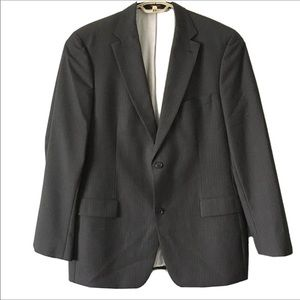 Hugo Boss Virgin Wool Sport Coat Jacket Pinstripe